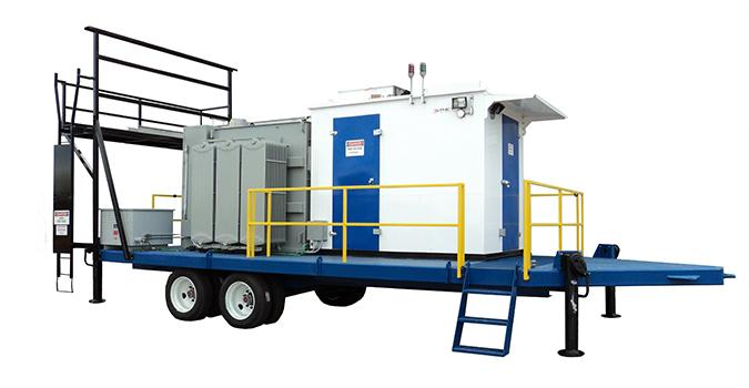 Portable Electrical Substations and Switchhouses
