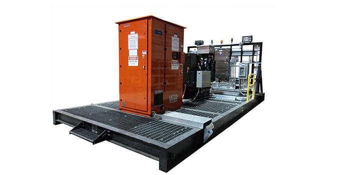 Skid Mounted Electrical Equitment